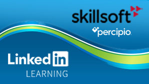 Skillsoft's Percipio and LinkedIn Learning