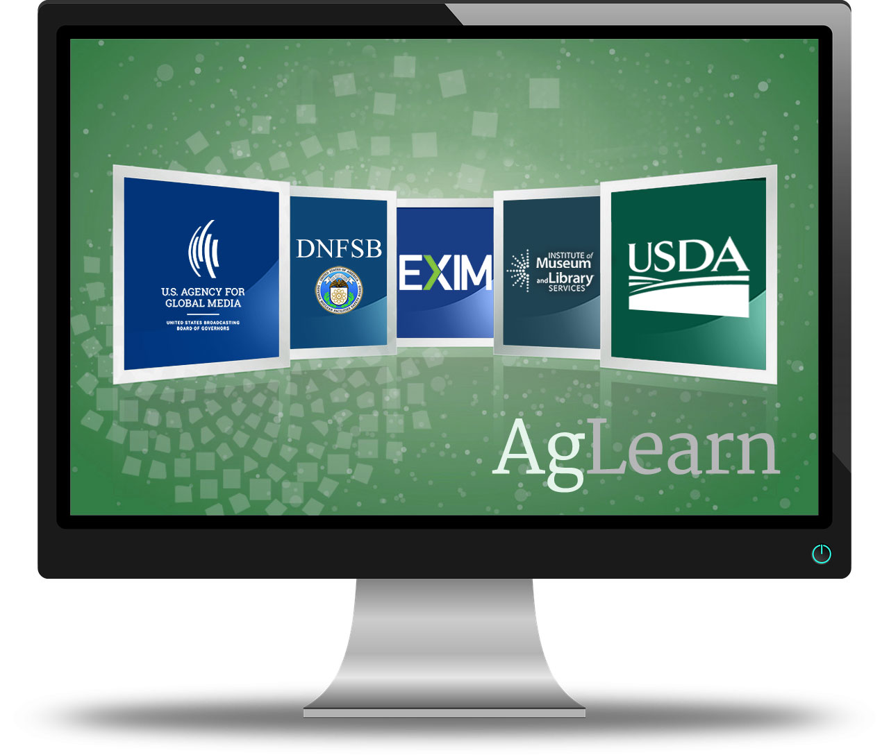 Log in to AgLearn for BBG, DNFSB, EXIM, IMLS and USDA