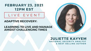 View more details on National Security Analyst and Best Selling Author Juliette Kayyem's Live Event