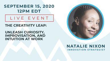 View more details on Innovation Strategist Natalie Nixon's Live Event