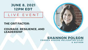 View more details on Former Apache Helicopter Pilot and Author Shannon Polson's Live Event